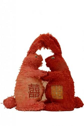 《兔仔燈籠 - 馬若龍和朋友們彩燈展第十一部份》/ 资讯图片来源:婆仔屋文创空间、会员 李黎