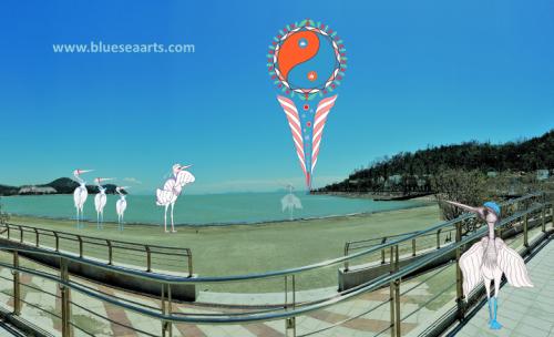 白鹭五行环场景设计 / 设计及影像来源: 蓝海艺术有限公司