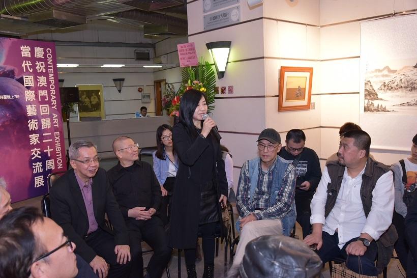 影像授权日期:2019年12月3日 资讯影像来源:澳门国际版画艺术研究中心会长 冯宝珠
