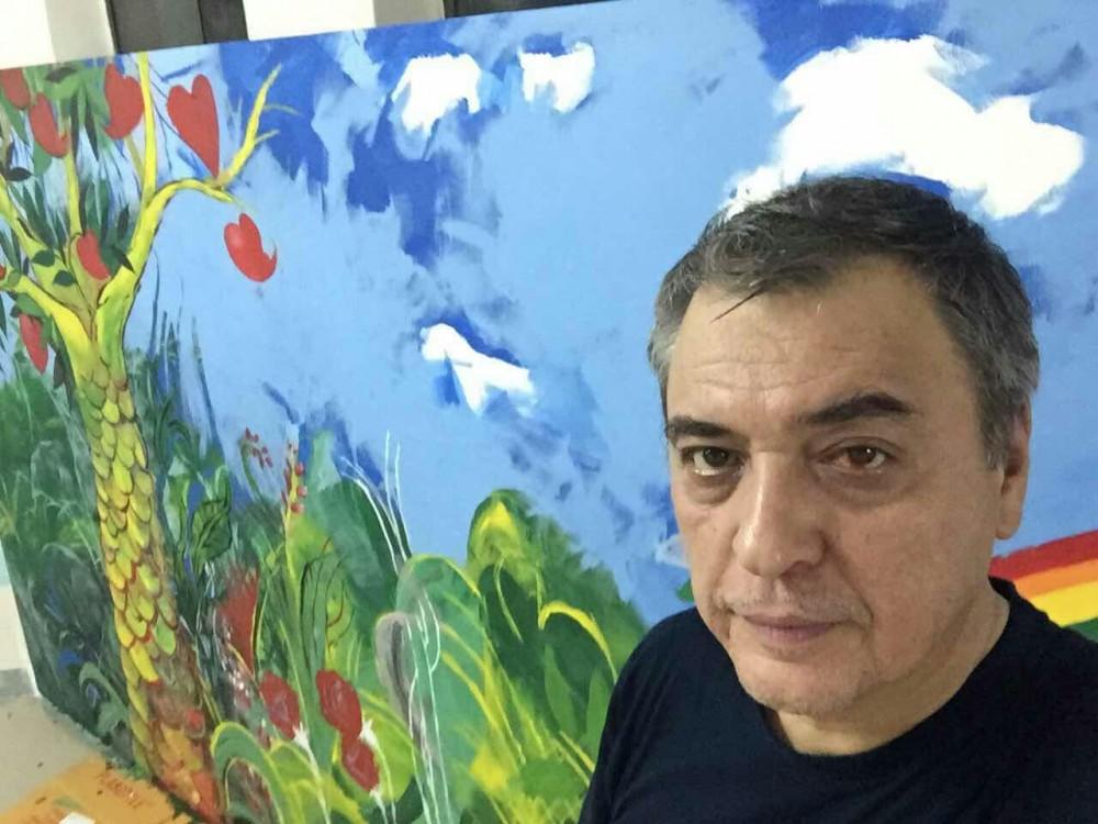 《拥抱艺术2015》墙壁画的创作 第一天 (待续)